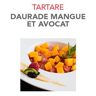 Tartare Daurade mangue et avocat - 14.10€ / Pce