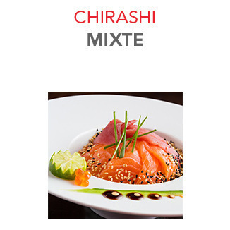 Chirashi Mixte - 15.80€ / Pce