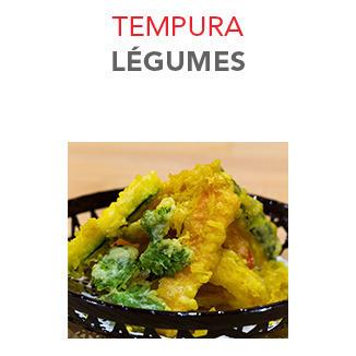 Tempura Légumes - 7.50€ / 8-10 Pce