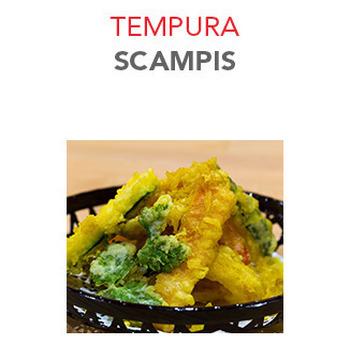 Tempura Scampis - 11.30€ / 6 Pce