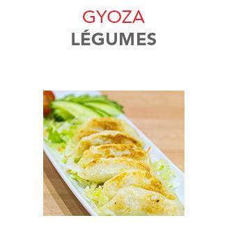 Gyoza Légumes - 5.50€ / 6 Pcs