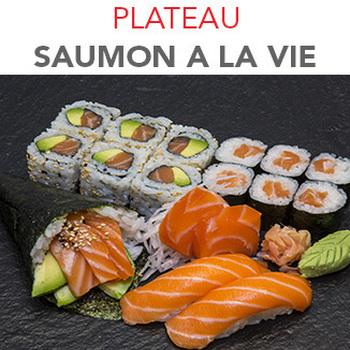 Plateau Saumon à la vie - 18.30€ / 17 Pcs / 1 Pers