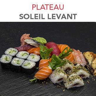 Plateau Soleil levant - 21.60€ / 23 Pcs / 1 Pers