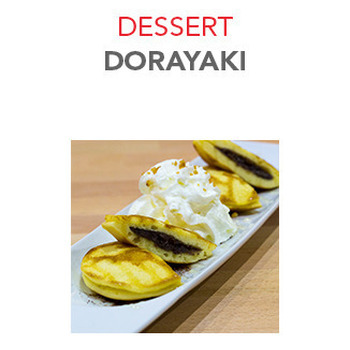Dessert Dorayaki - 6.00€ / 2 Pce