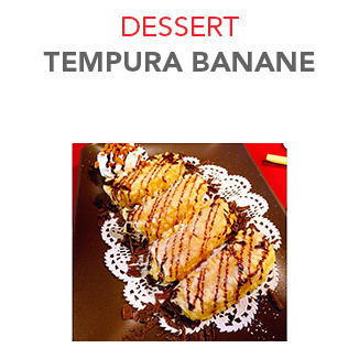Dessert Tempura banane - 6.00€