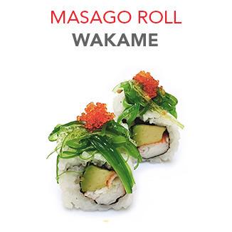 Masago Roll Wakame - 6.10€ / 6 Pce