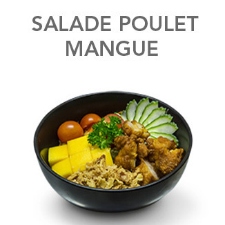 Salade Poulet & Mangue - 6.60 €