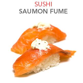 Sushi Saumon fumé - 4.00€ / 2 Pcs