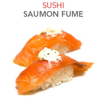 Sushi Saumon fumé - 2 Pcs