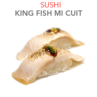 Sushi King fish Mi Cuit 4.50 € / 2 Pce
