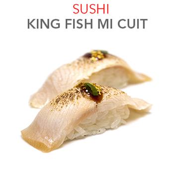 Sushi King fish Mi Cuit 4.50 € / 2 Pce