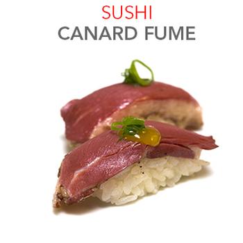 Sushi Canard Fumé - 4.00€ / 2 Pcs