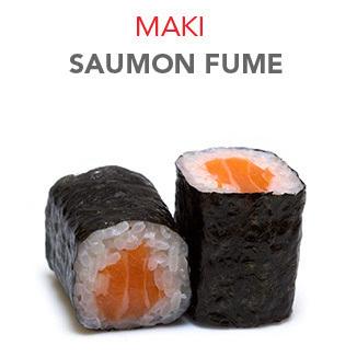 Maki Saumon fumé - 4.60€ / 6 Pcs