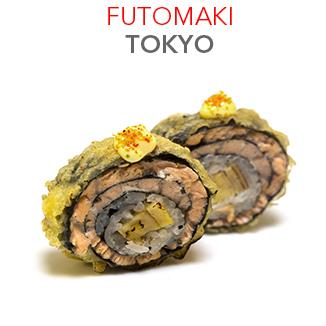 Futomaki Tokyo (Frit) 9.30€ / 6 Pce