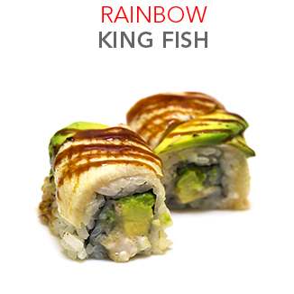 Rainbow King Fish - 9.00 € / 8 Pce