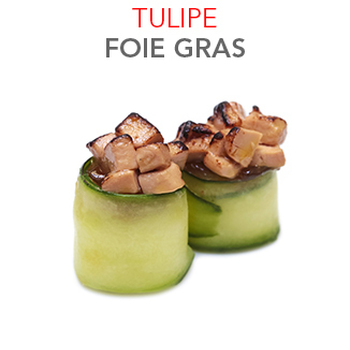 Tulipe Foie Gras - 2.70 € / Pce