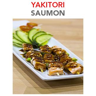 Yakitori Saumon - 8.00€ / 3 Pces