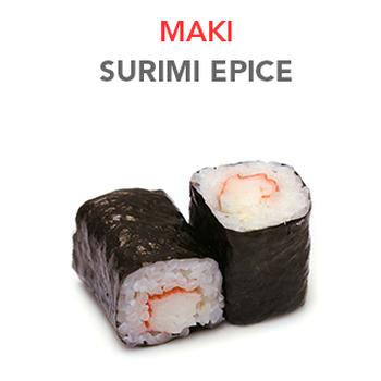 Maki Surimi épicé - 4.20€ / 6 Pcs