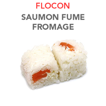Flocon Saumon Fumé fromage - 5.80€ / 6 Pcs