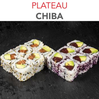 Plateau Chiba - 10.90€ / 12 Pcs / 1 Pers