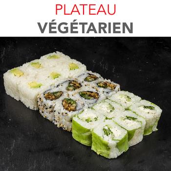 Plateau Végétarien - 14.60€ / 18 Pcs / 1 Pers