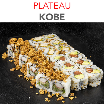 Plateau Kobe - 17.40€ / 20 Pcs / 1 Pers