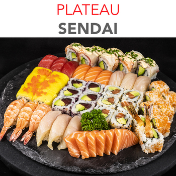 Plateau Sendai - 63.50€ / 55 Pcs / 3 Pers