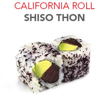California Roll Shiso thon - 5.60€ / 6 Pcs