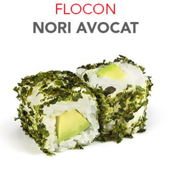 Flocon Nori Avocat - 4.50€ / 6 Pcs