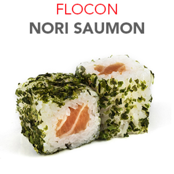 Flocon Nori Saumon - 5.30€ / 6 Pcs