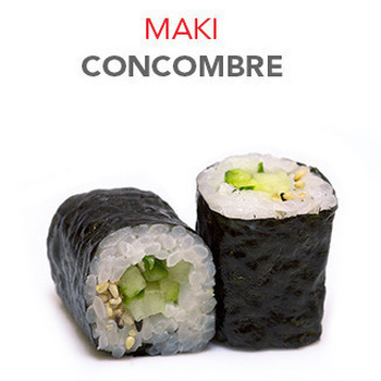 Maki Concombre - 6 Pcs