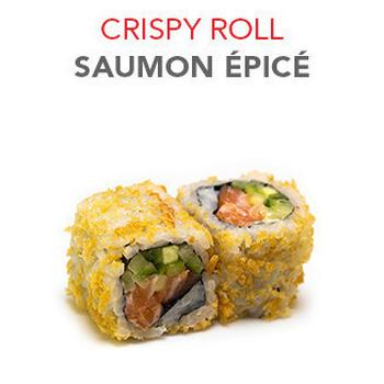 Crispy Roll Saumon épicé - 6 Pcs