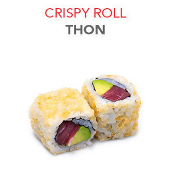 Crispy Roll Thon - 6 Pcs