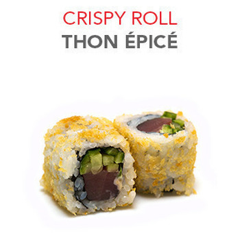 Crispy Roll Thon épicé - 6 Pcs