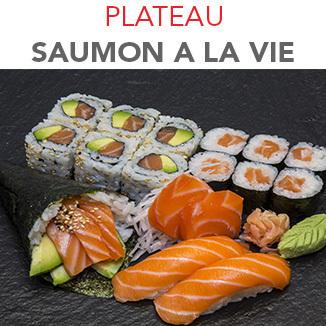 Plateau Saumon à la vie - 17 Pcs / 1 Pers