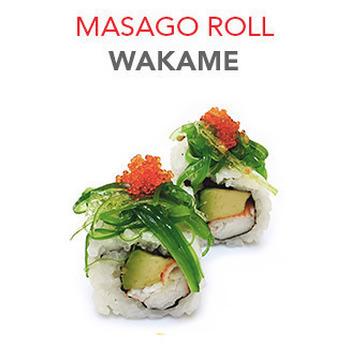 Masago Roll Wakame - 6 Pcs