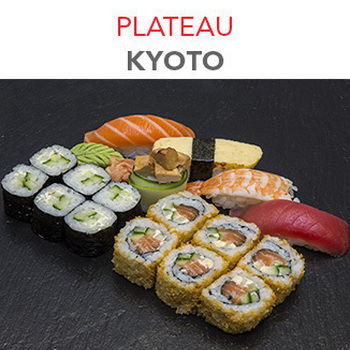 Plateau Kyoto - 17 Pcs / 1 Pers