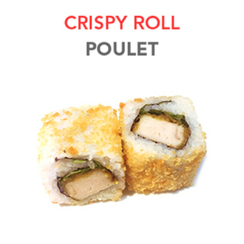 Crispy Roll Poulet - 6 Pcs
