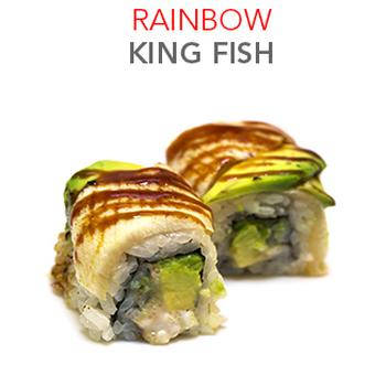 Rainbow King Fish - 8 Pcs