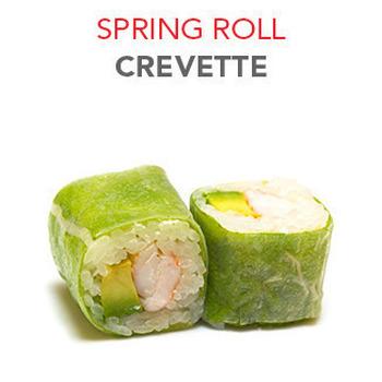 Spring Roll Crevette -  6 Pcs