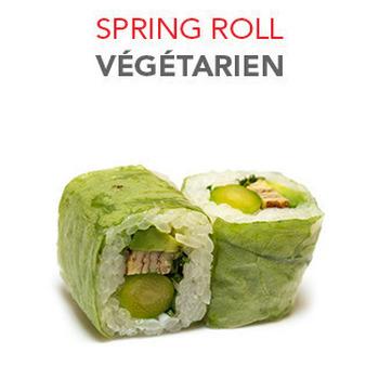 Spring Roll Végétarien - 6 Pcs
