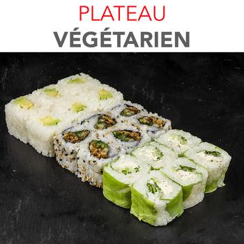 Plateau Végétarien - 18 Pcs / 1 pers